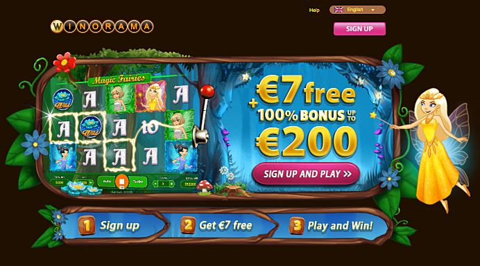 Magic Fairies- 7 Eur free + 100% New player bonus